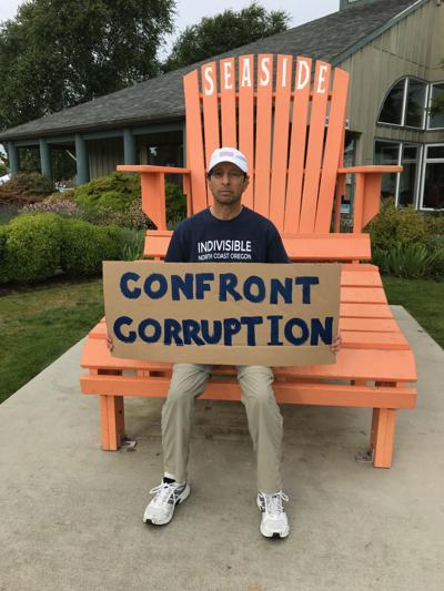 Indivisible plans to protest government corruption