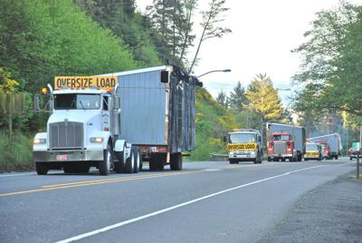 Wide load: Portable classrooms to become South County food bank's new home