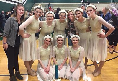 Pizazz qualifies for OSAA Dance and Drill Competition