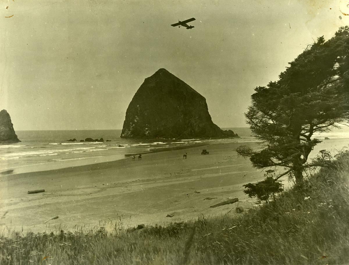 The rock in Cannon Beach
