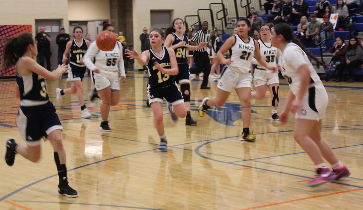 Bella Colombo, Naselle basketball