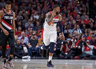Wizards' Morris fined $15,000 for grabbing Curry's shorts