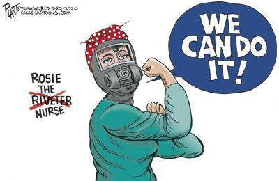 Editorial Cartoon: Rosie the Nurse | Opinion | dailyastorian.com