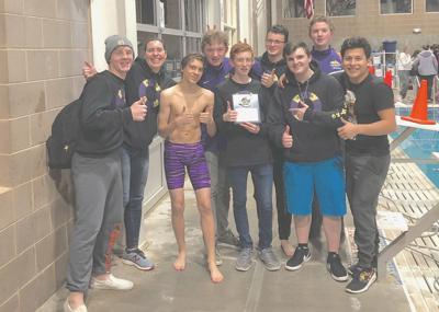Astoria boys swim team