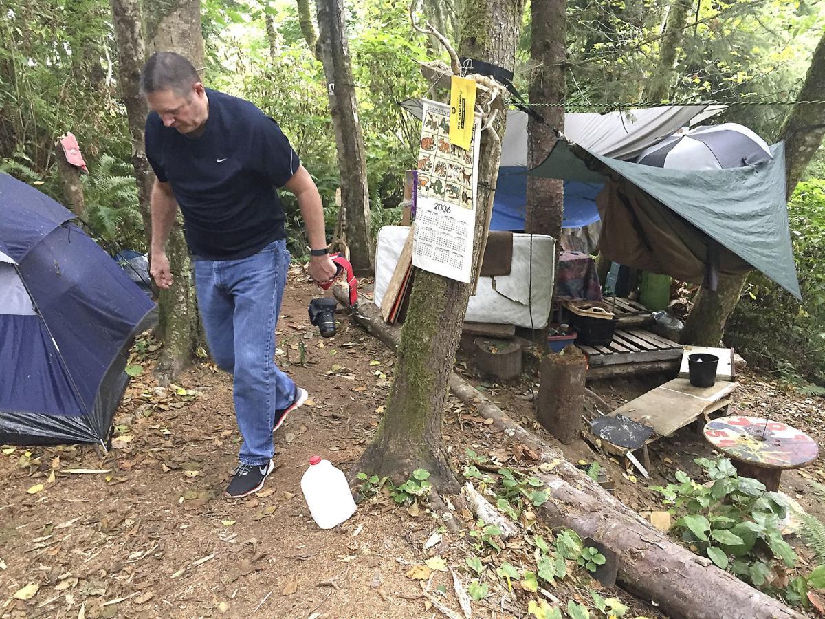 Astoria struggles with homeless camps