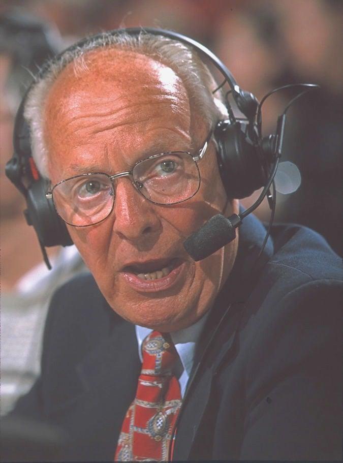 Blazer announcer Bill Schonely