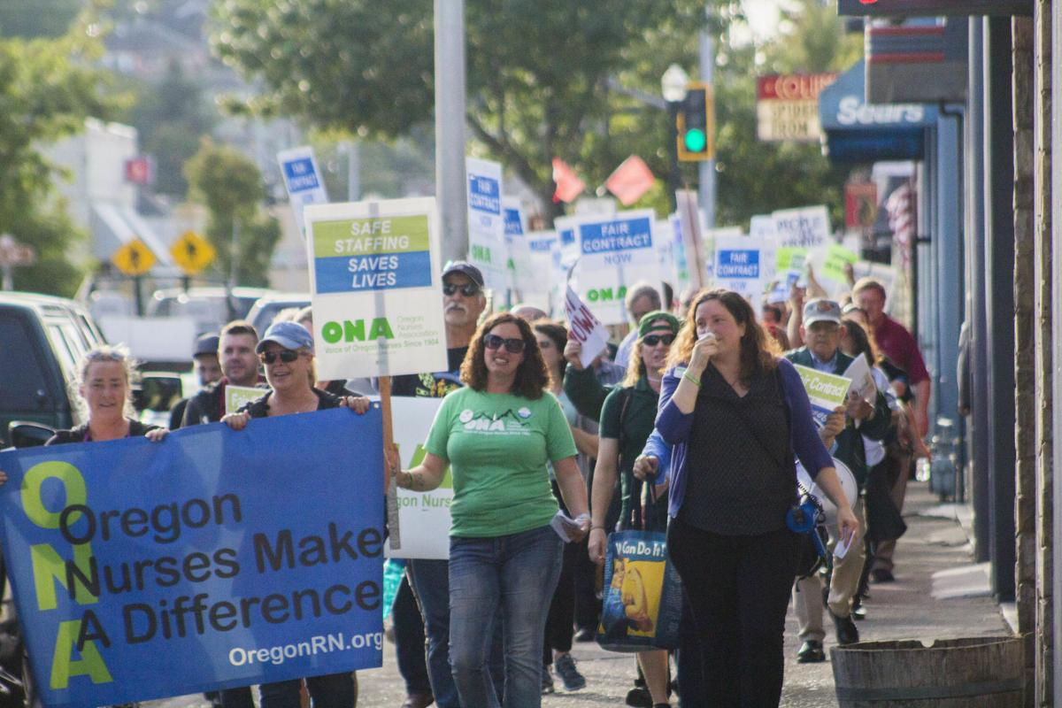 CMH nurse march