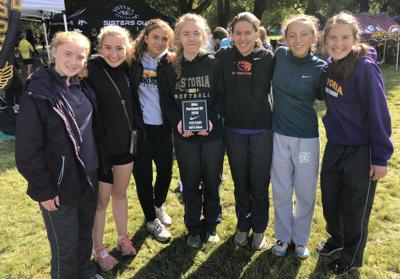 Astoria girls cross-country team