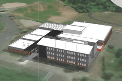 New Astoria Middle School hall