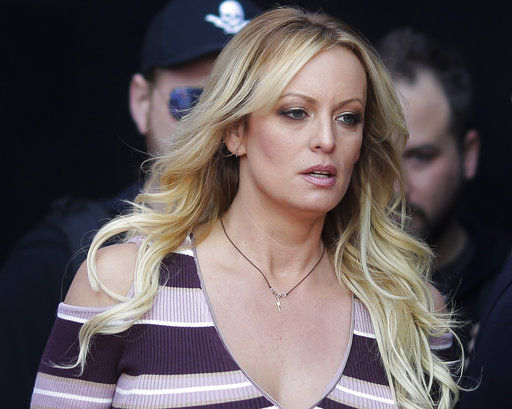Lawyers for Trump seek to punish porn star in court fines