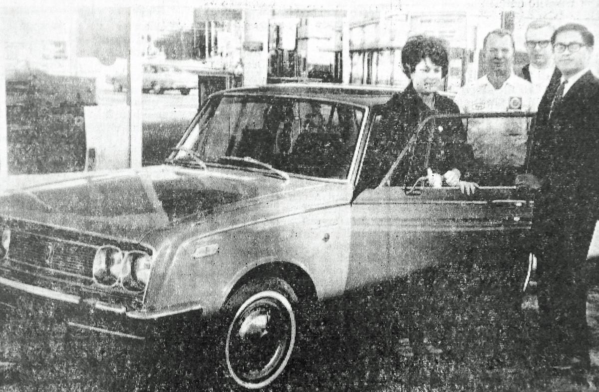 1st Toyota - 1969