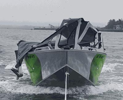 Fisherman sues after boat crash near Hammond