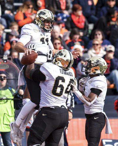 Blough's resurgence has Purdue in position to make a charge