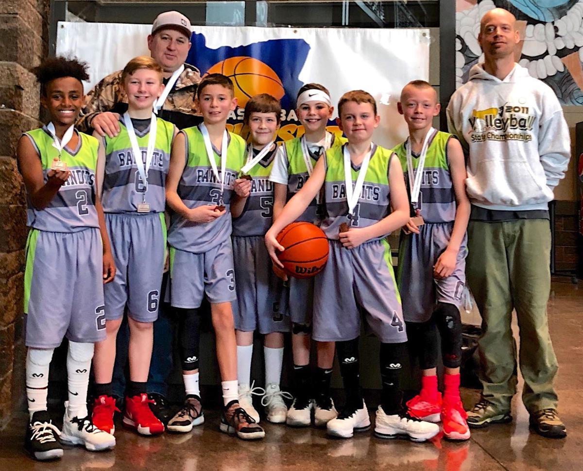 Fifth grade basketball Astoria Bandits