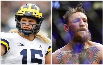 Michigan's Chase Winovich calls Conor McGregor big brother