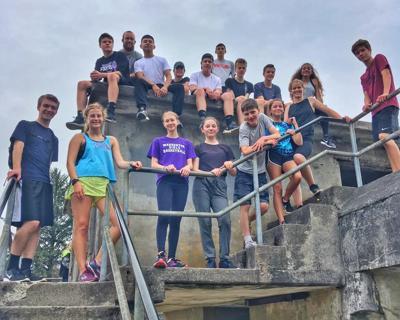 Warrenton cross country team