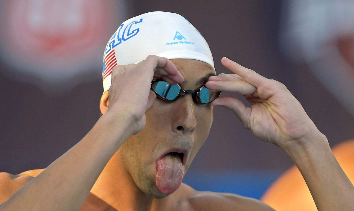 Adrian wins 100 free at US Nationals; Phelps 7th
