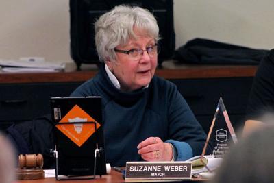 Mayor Suzanne Weber