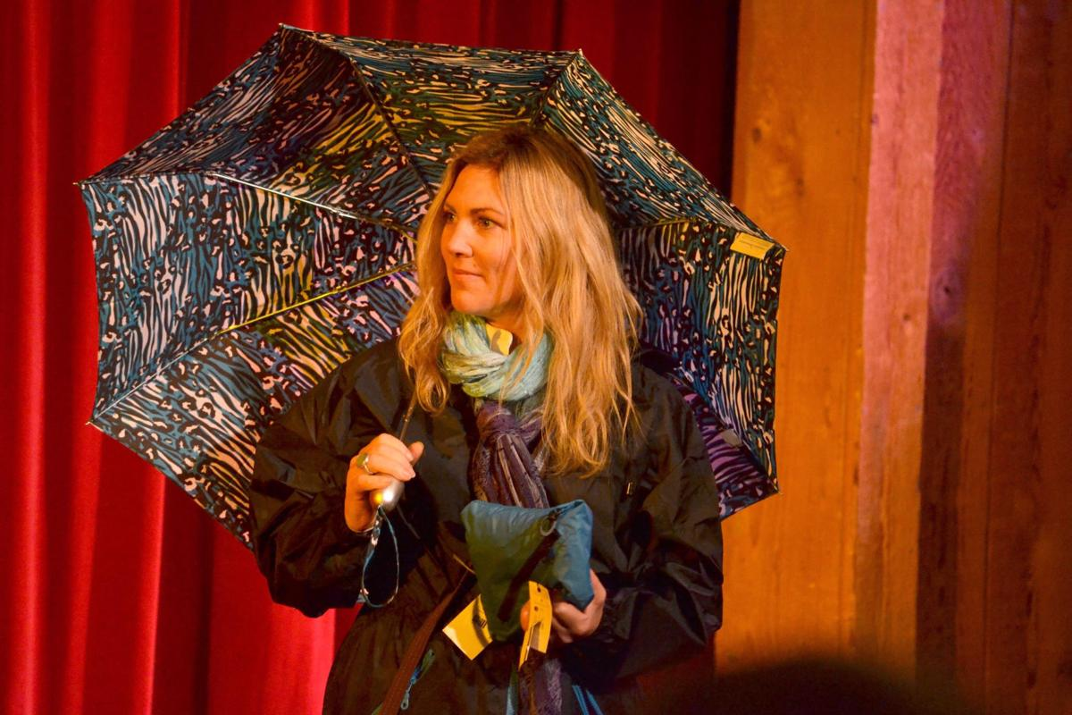 Fashion show enlivens Stormy Weather festival