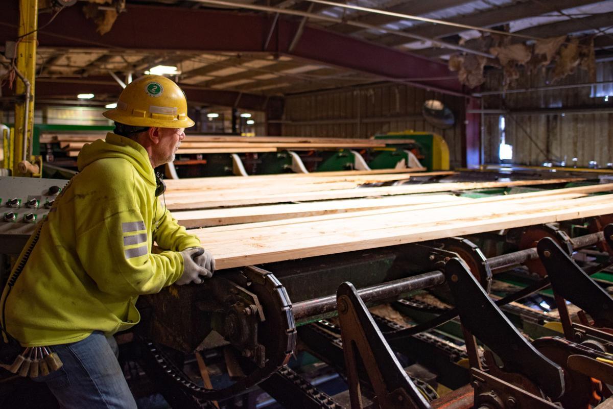 Lots of lumber