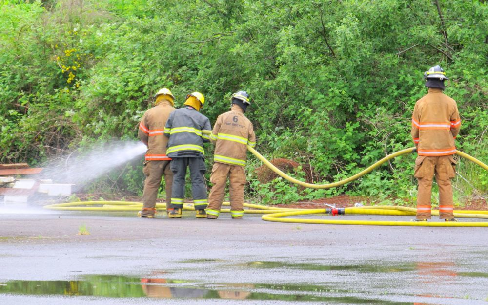 Fire Cadets train at CCC center