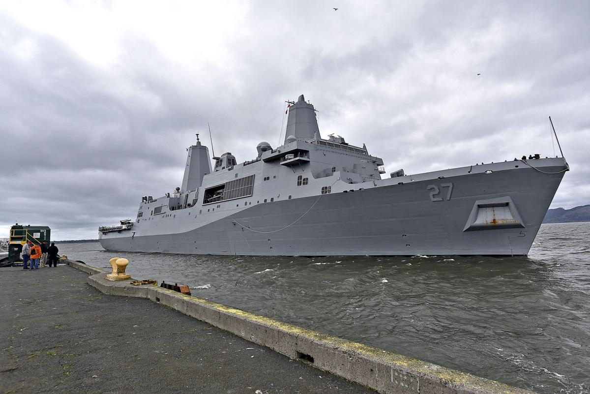 New Navy ship arrives in Astoria