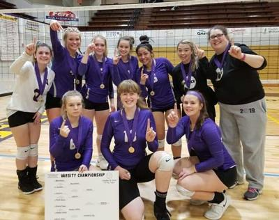 Astoria volleyball team