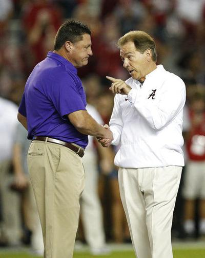 No. 1 Alabama at No. 4 LSU should change playoff picture