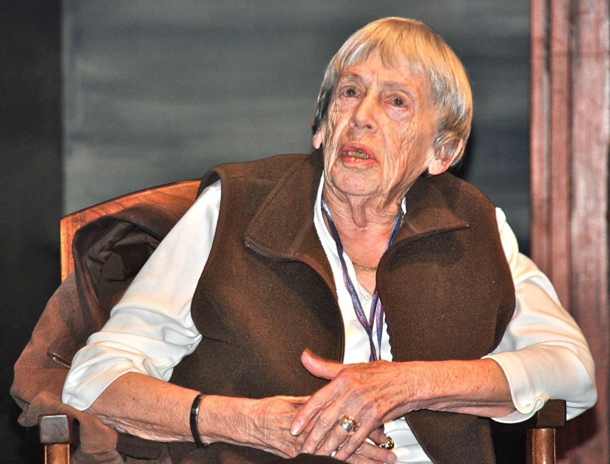 Oregon author Ursula Le Guin denounces corporate control of American literature