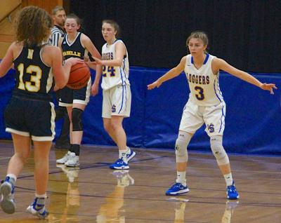 Madelynn Weaver, Knappa basketball