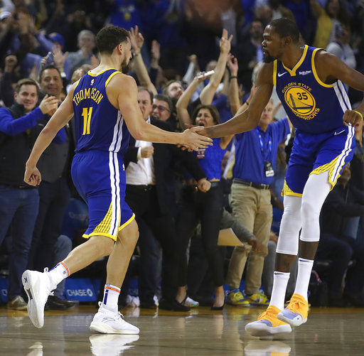 b26bab377d3 Kevin Durant s 49 points carry Warriors past Magic 116-110 ...