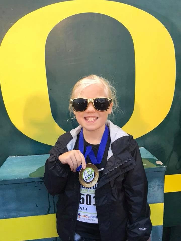 Warrenton athlete Kysa Whitsett