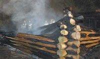 Mystery fire destroys Fort Clatsop replica