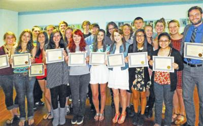 Masons honor Seaside students