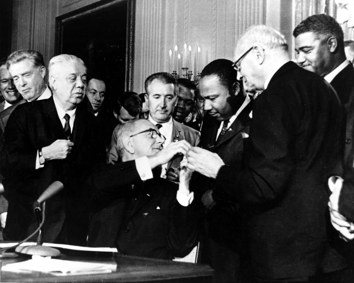 Dr. King, LBJ gave us hope — Trump gives us hate