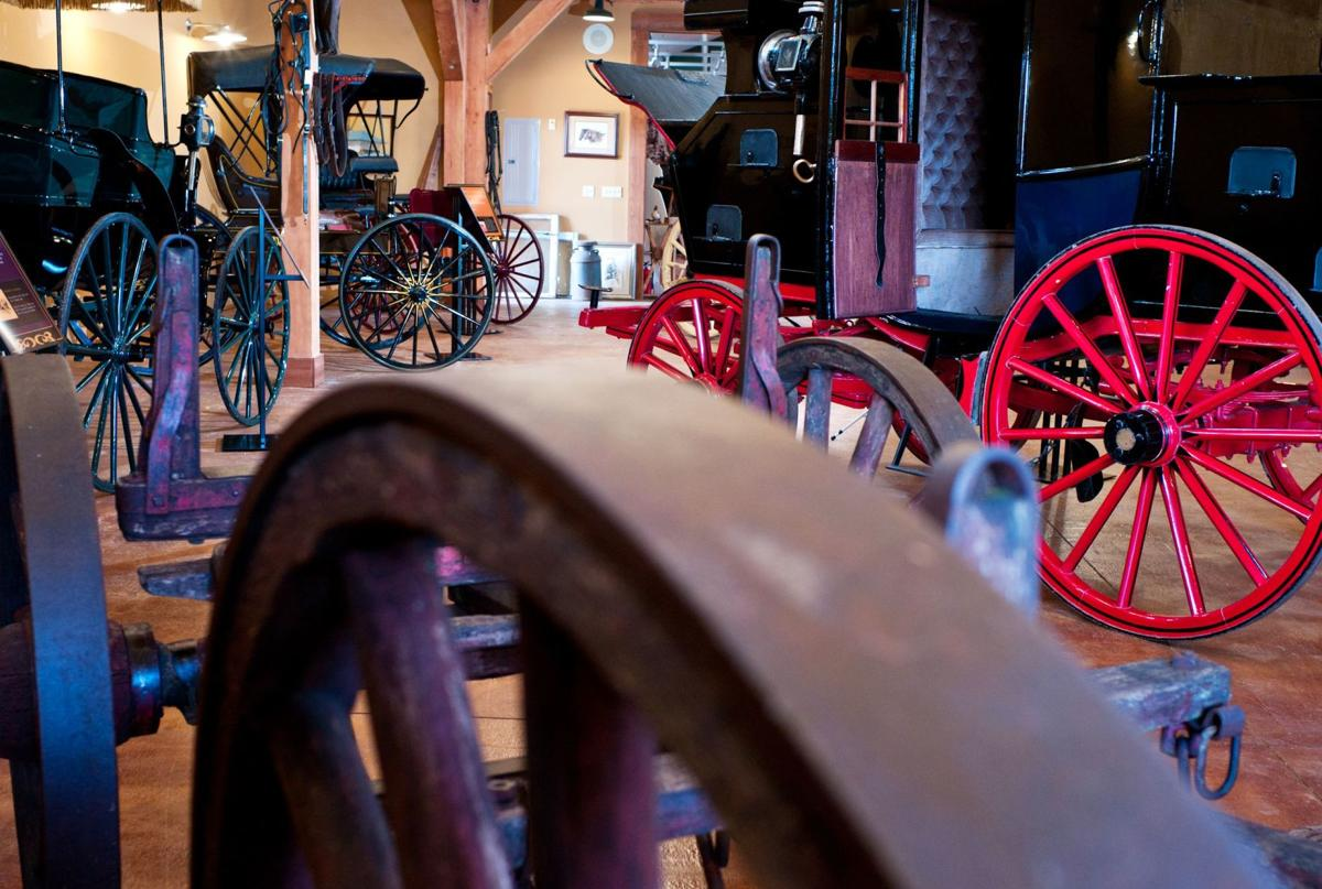 Vintage workhorse  Carriage Museum creates space for vehicles that earned a living