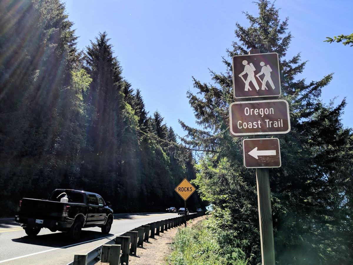 Highway crossing for trail