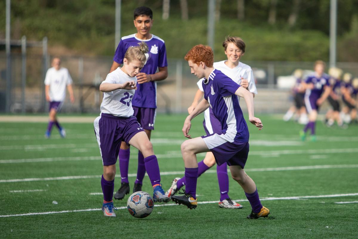 AHS M Soccer Scrimmage