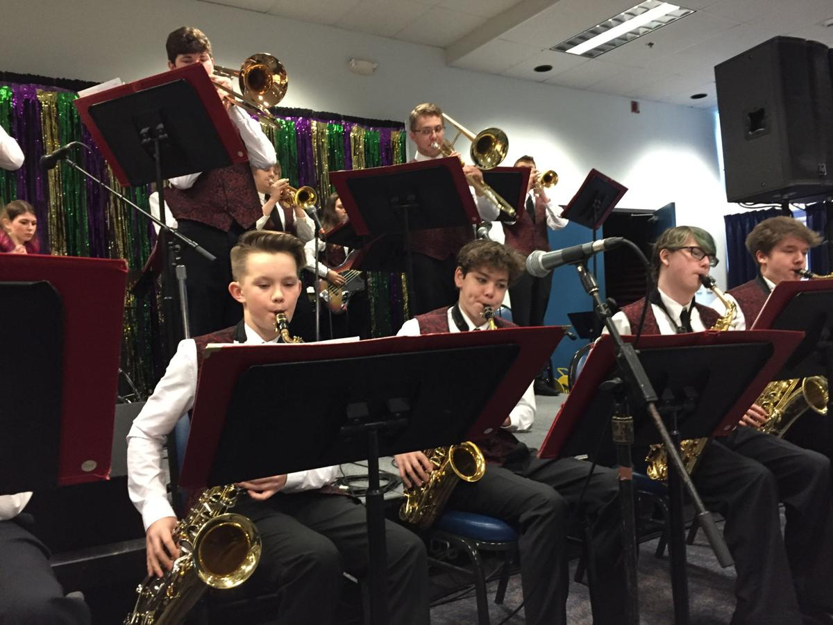 Music students take the big stage