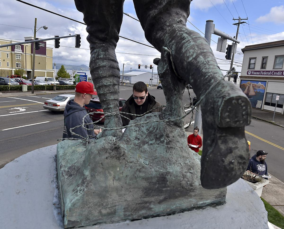 Doughboy Monument gets a facelift