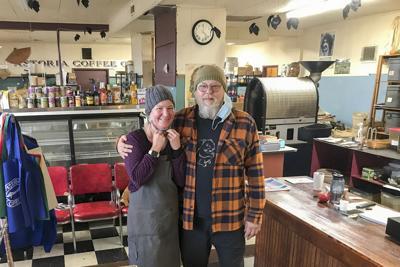 Sara Moot and Pete Aiken