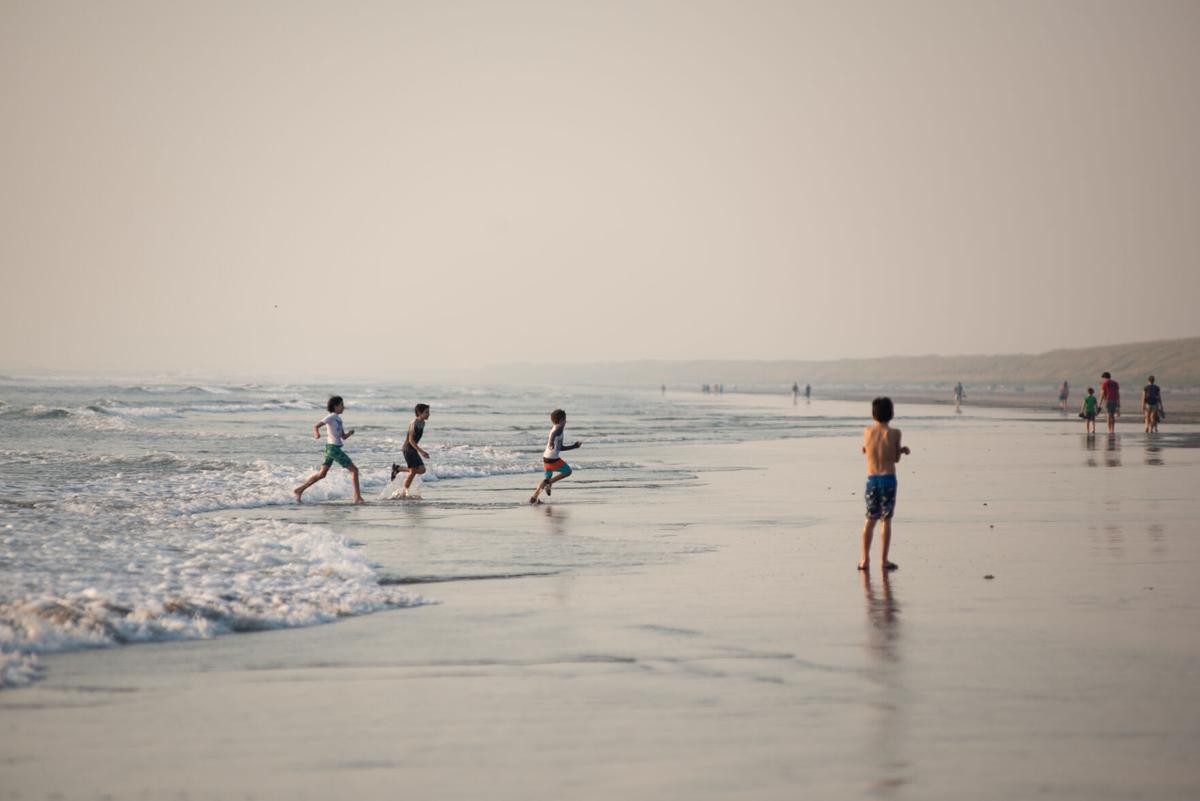Smoke beach