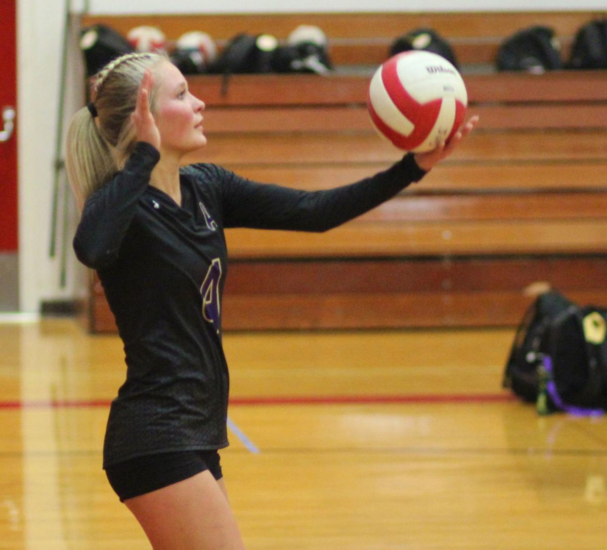Kelsey Fausett, Astoria volleyball