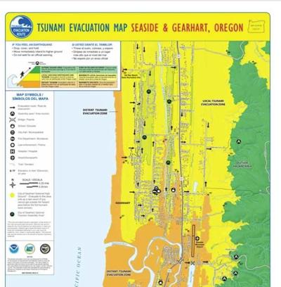 Gearhart responds to tsunami threat