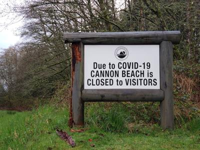 Cannon Beach closed