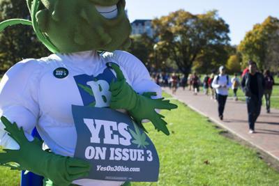 Ohio votes on legalizing pot for medical, recreational use