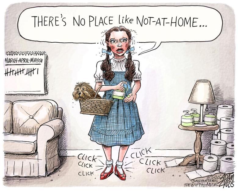 Editorial Cartoon Cabin Fever Opinion Dailyastorian Com