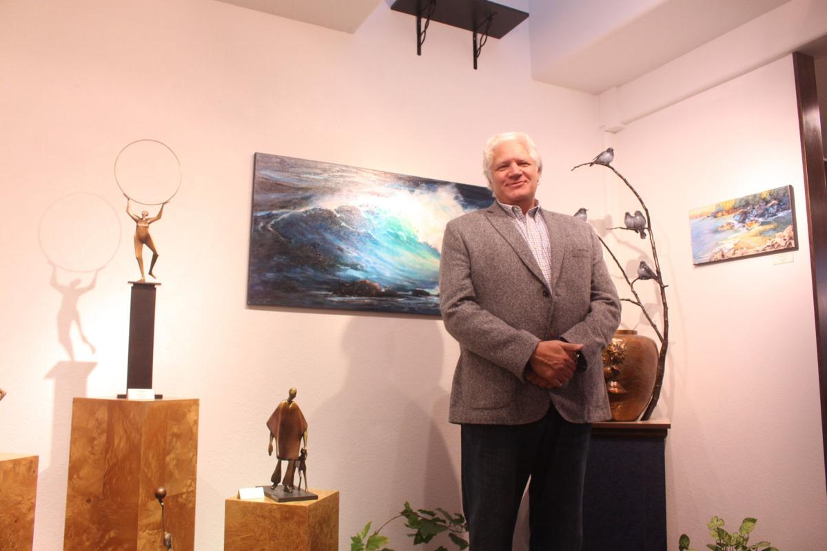 From chemical salesman to gallery owner