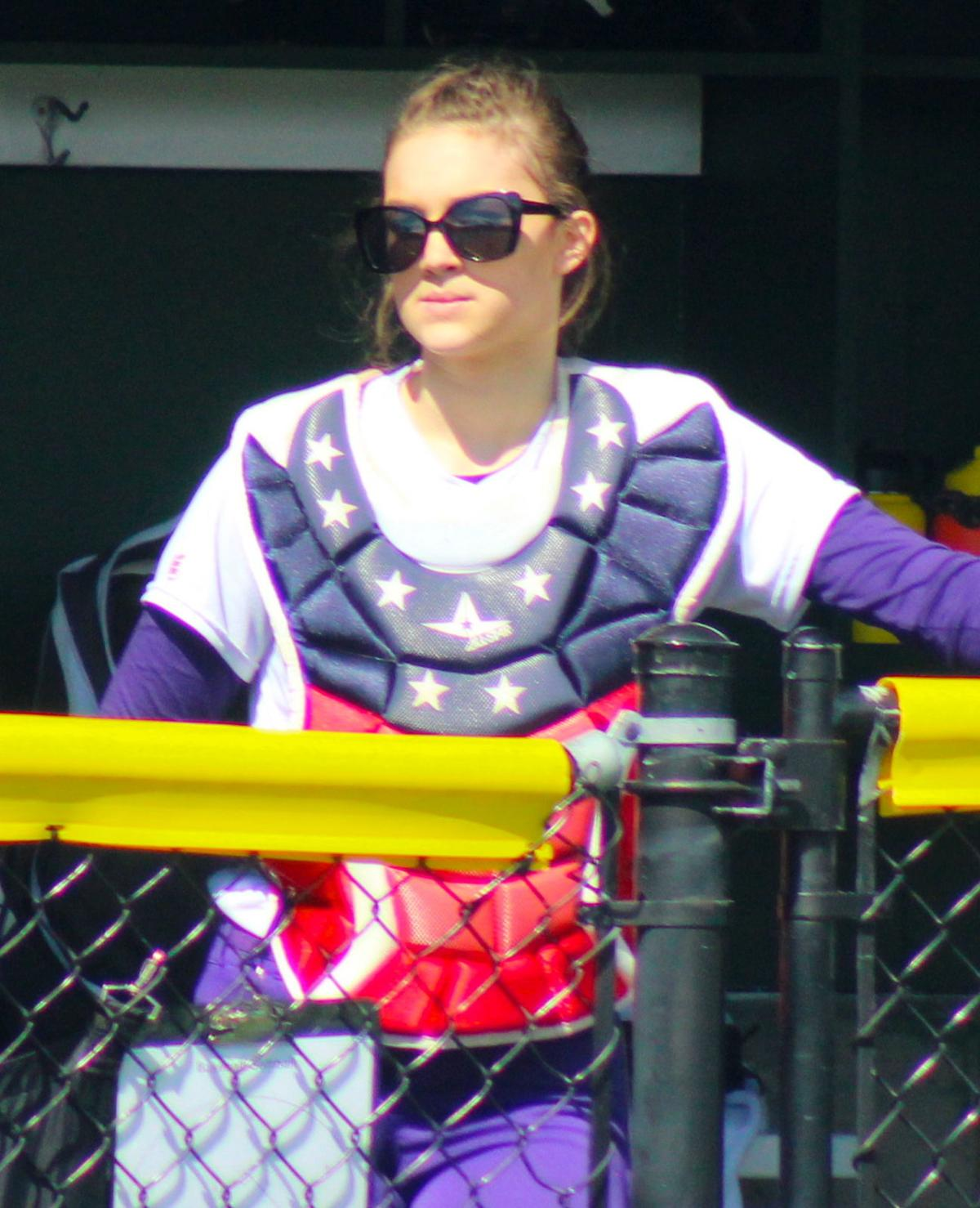 Kayla Helligso, Astoria softball