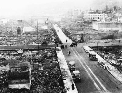 Great Astoria fire of 1922